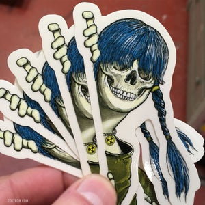 Image of New Sue Nami Clear Stickers (5)