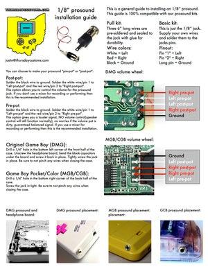 "Image of 1/8"" Pro-Sound kit"