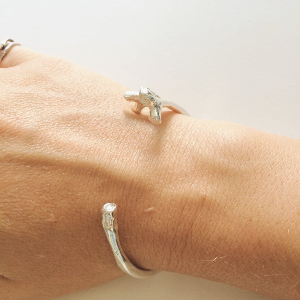Image of Bells Cuff - silver