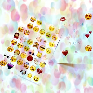 Image of Emoji Obsession Stickers