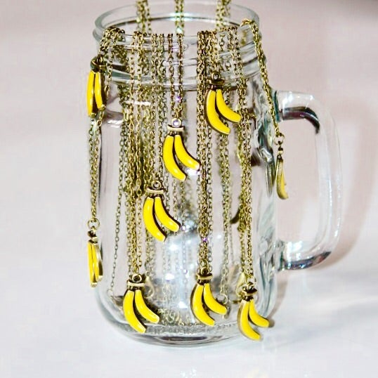 Image of Bananas For You Necklace |NOTS|