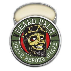Image of GRAVE BEFORE SHAVE BEARD BALM  2 oz. tin
