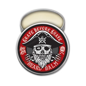 Image of GRAVE BEFORE SHAVE BAY RUM BEARD BALM 2 oz. tin