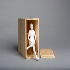 Matthew Darbyshire, Seated Nude 2014