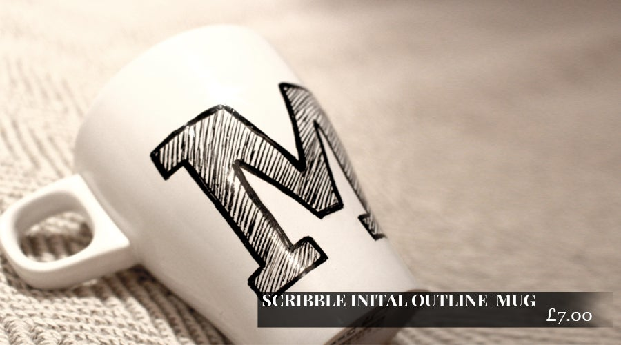 Image of Initial Outline Mug