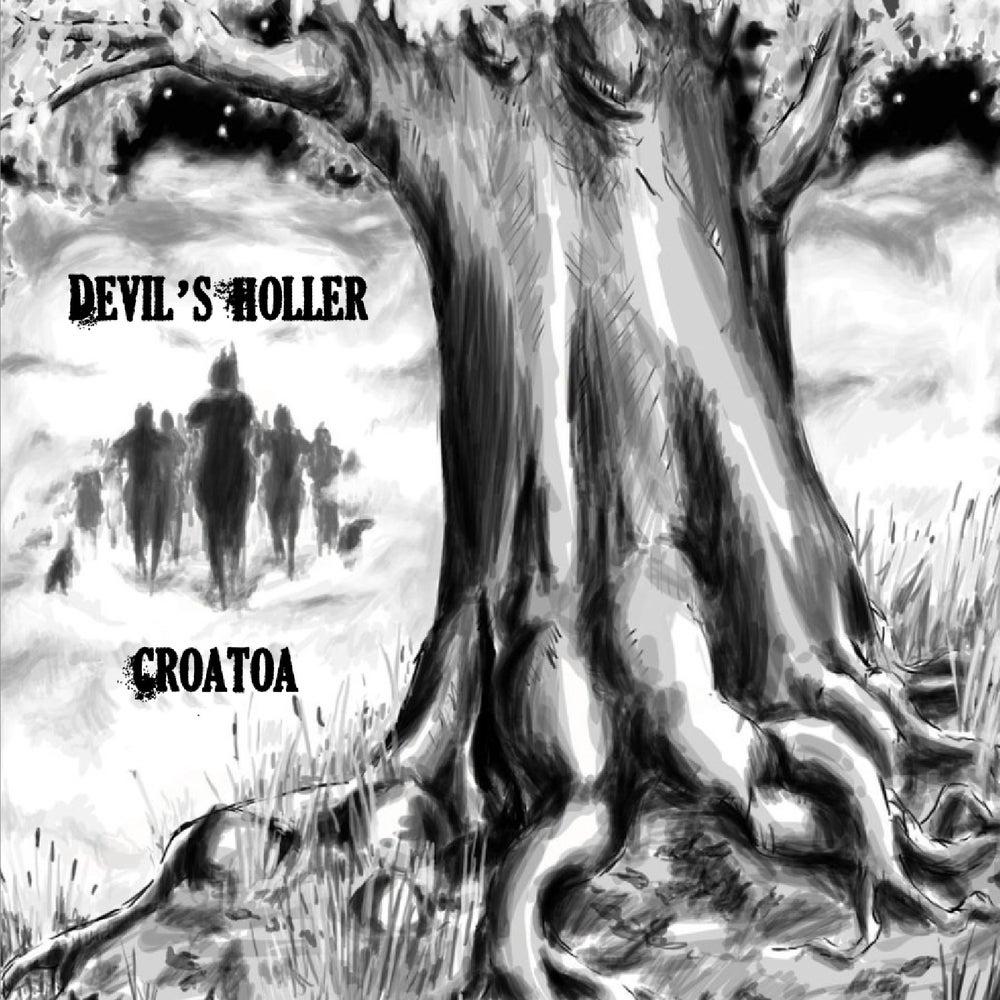 """Image of Devil's Holler CD """"Croatoa"""""""