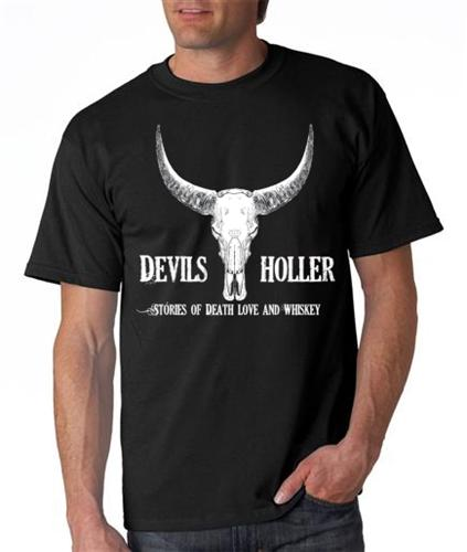 Image of Devil's Holler T-Shirt Black