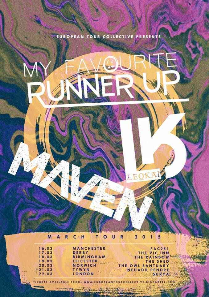 Image of LeoKai + My Favourite Runner Up + Maven UK Tour - 14+