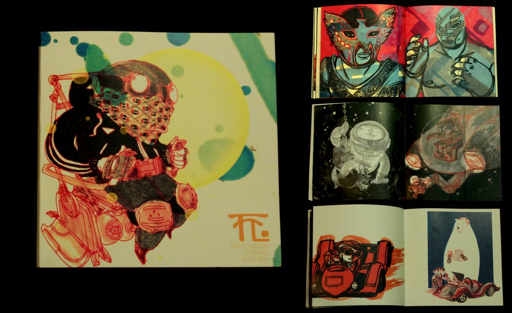 Image of FTONGL SKETCHBOOK VOL1