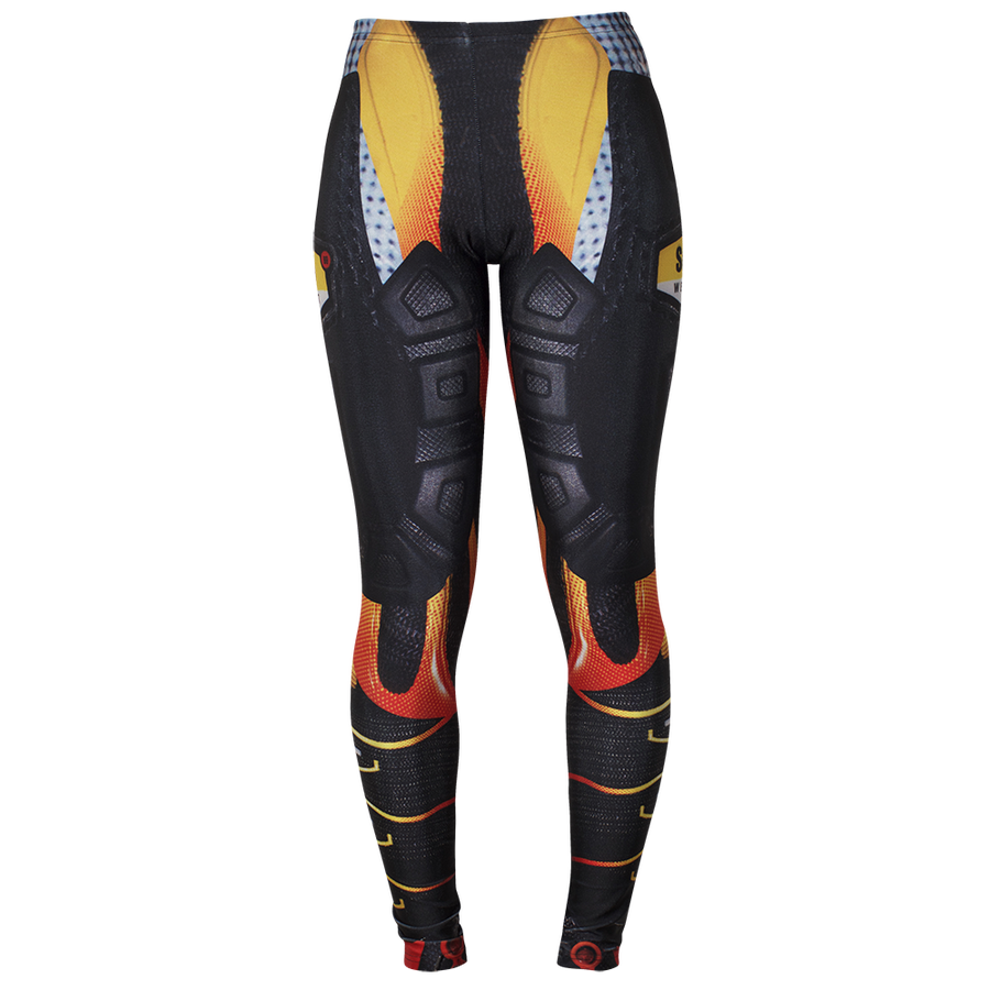 Image of TUNED RED LEGGINGS 25% OFF