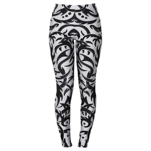 Image of TRIBAL WHITE LEGGINGS 25% OFF