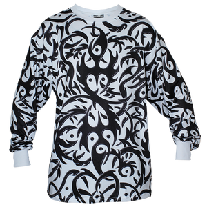 Image of TRIBAL WHITE LONG SLEEVE 25% OFF