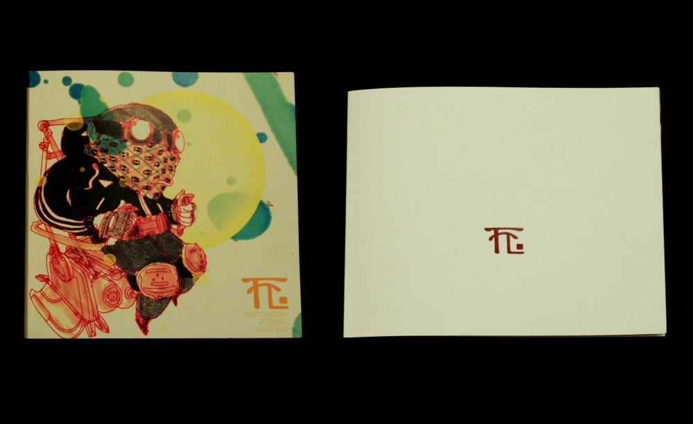Image of 'THE COMBO' FTONGL SKETCHBOOK VOL.1 + PORTFOLIO BOOK