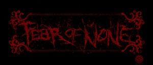 Image of Fear of None Logo Bumper Sticker