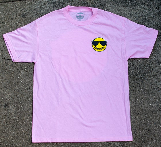 Image of SHMOPLIFE LOGO TEE PINK