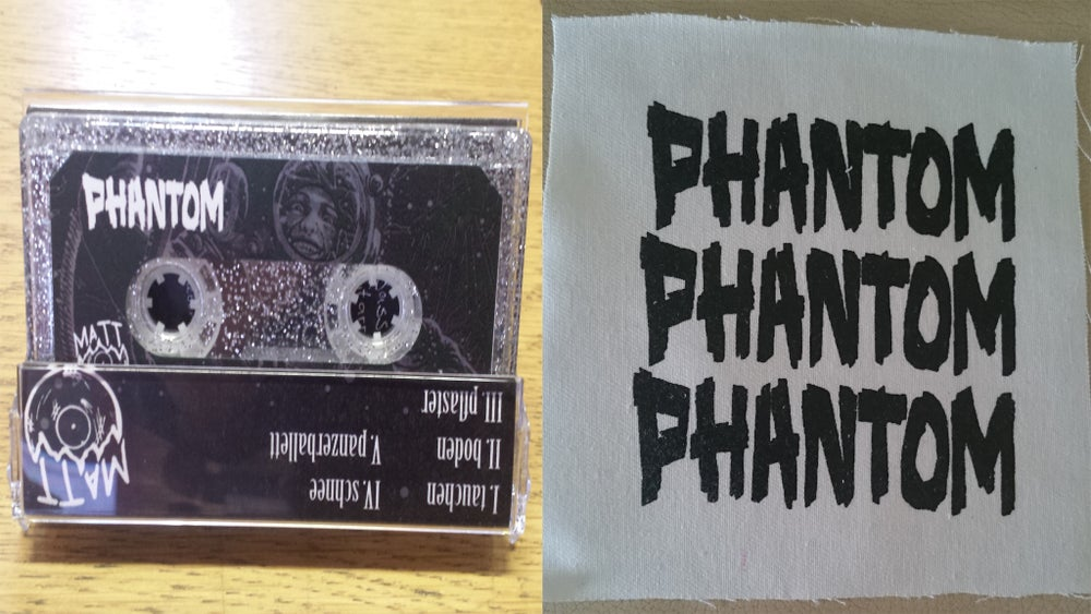 Image of *pre-order* Phantom - Tauchen (Limited to 5 - UK only) Patch + DL