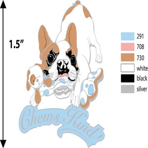 Image of Chews Kind Pin