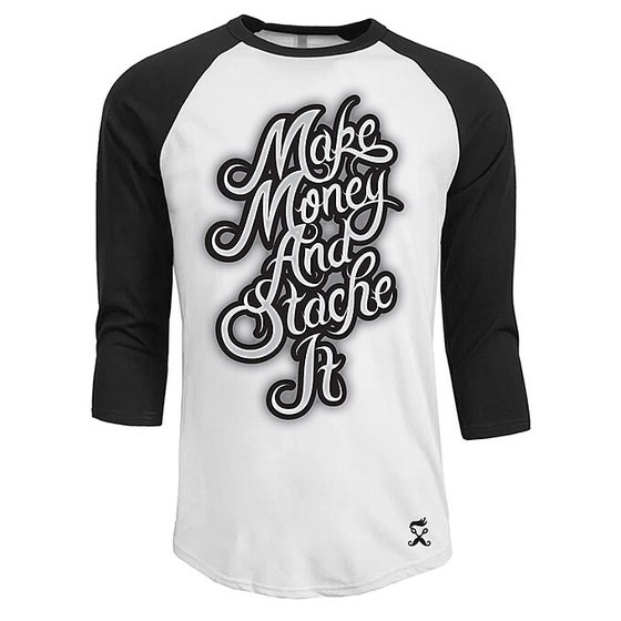 Image of Make Money Rangel 3/4 sleeve TSHIRT