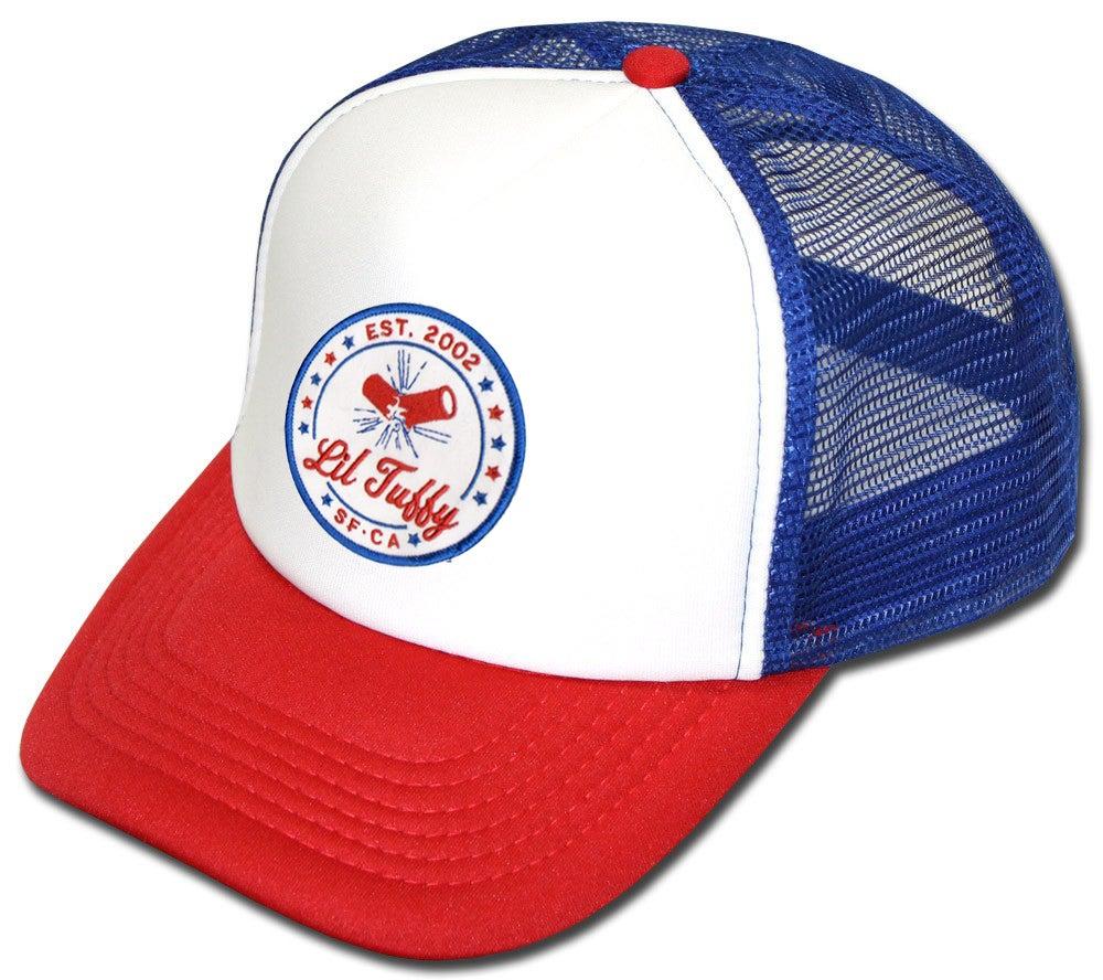 Lil Tuffy Quot Usa Quot Trucker Hat Lil Tuffy