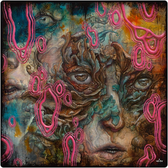 "Image of ""Overwhelm"" original painting"