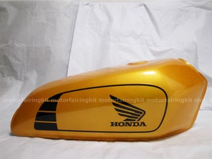 Image of Cafe Racer Honda CG125 / CB125 Fuel Tank/ Gas Tank Golden Wing Series