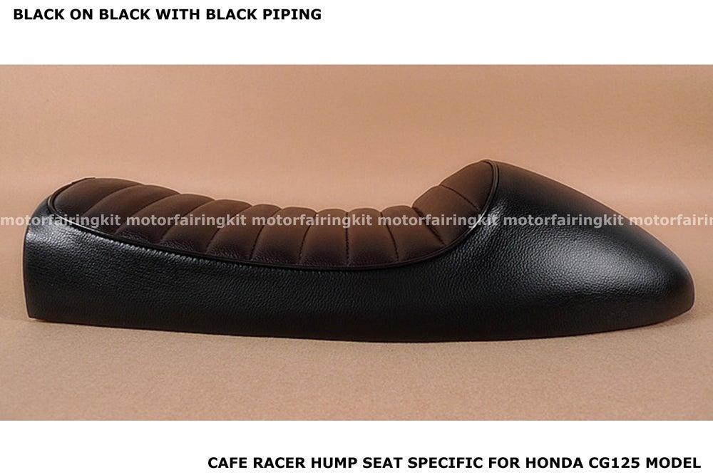 Image of Honda CG125 Seat - Classic Hump Seat 2