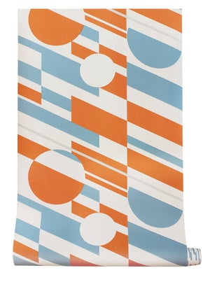Image of P.L.U.T.O. Wallpaper - Tangerine Dream & Silver