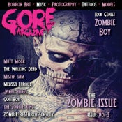 Image of Gore Noir Magazine Issue # 5 W/Zombie Boy Cover