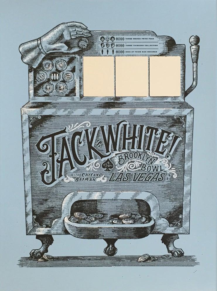 Image of Jack White. Las Vegas. 2015