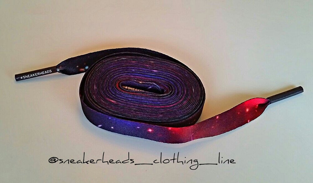"Image of Exclusive ""Galaxy"" LE Custom Laces"