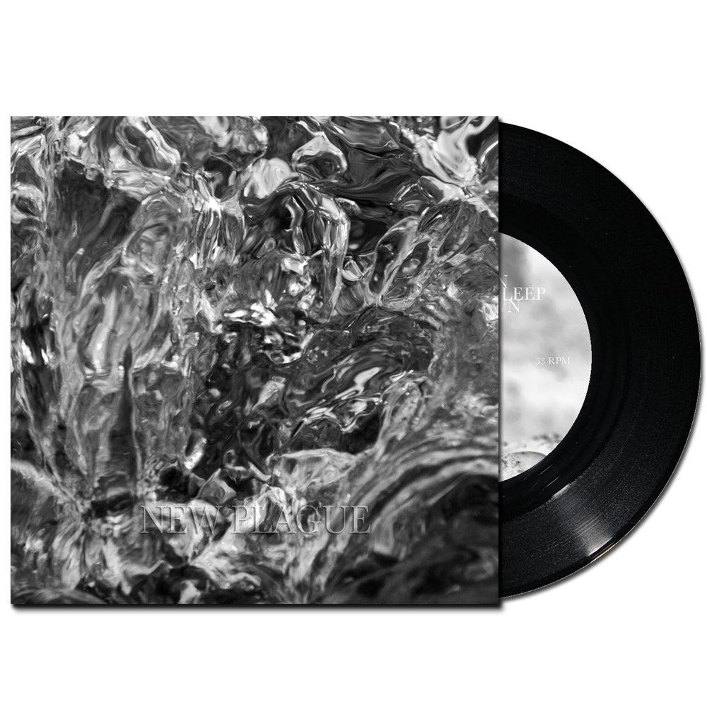 "Image of New Plague S/T EP, 7"" Vinyl Black"