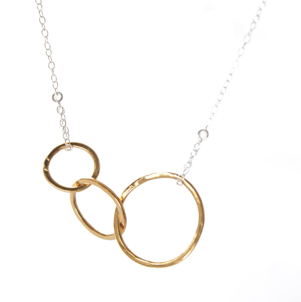 Image of Mum and Me Gold necklace