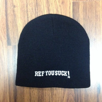 Image of Ref You Suck! beanie/toque Black, Red, Gold, Blue, Pink, or Orange