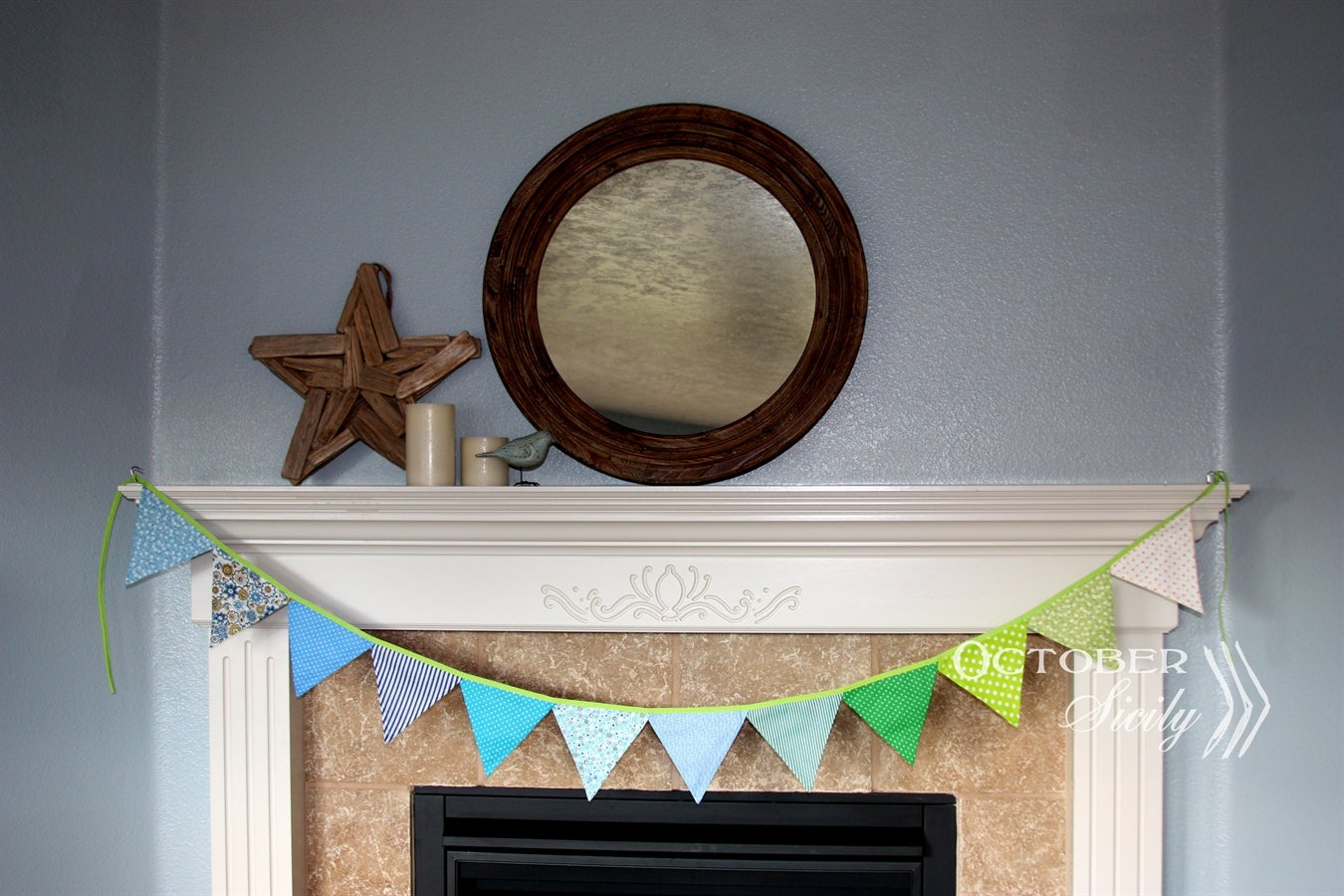 Image of Colorful Party, Decor Bunting, flags, garland