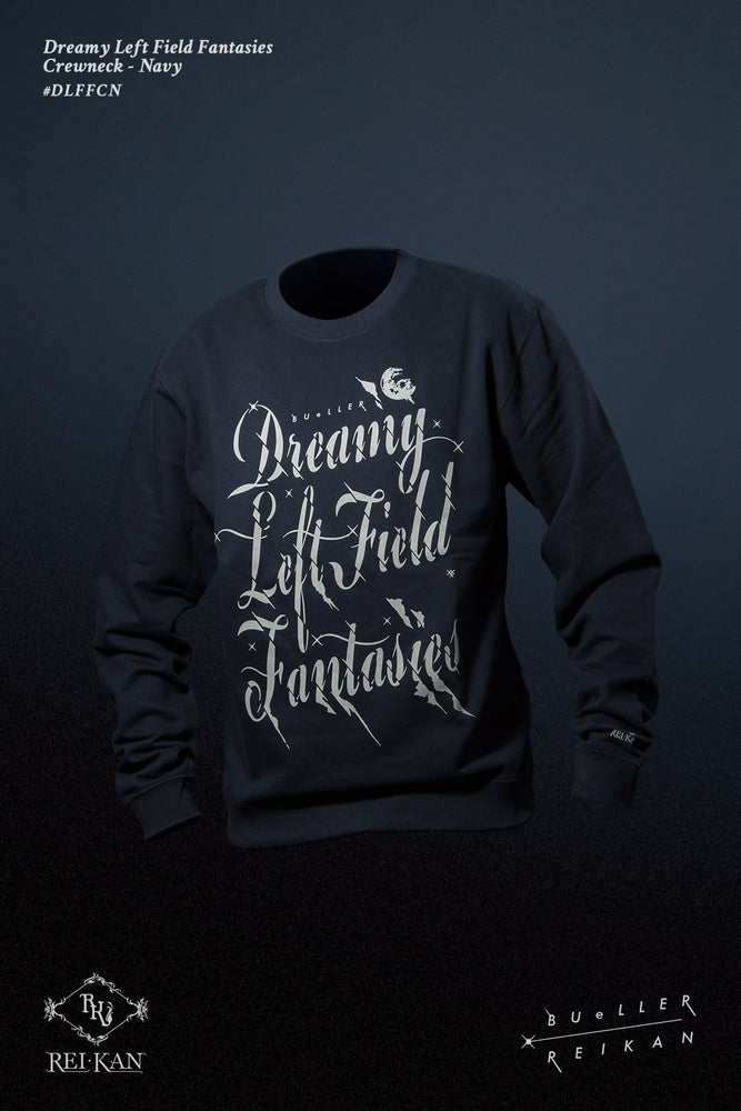 Image of Dreamy Left Field Fantasies-BUeLLER Tribute Crewneck