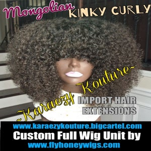 Image of Mongolian KINKY CURLY Afro Curl ***Restocks March 25, 2015***