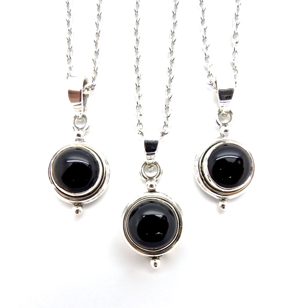 Image of Black Onyx Witchcraft Necklace