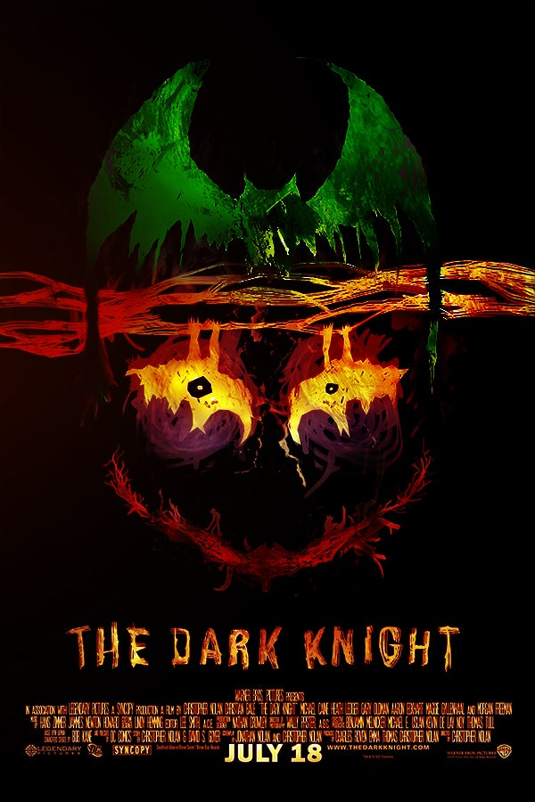 Image of The Dark Knight - Tormented - Black