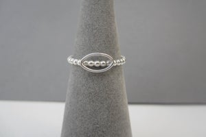 Image of Bubble leaf ring