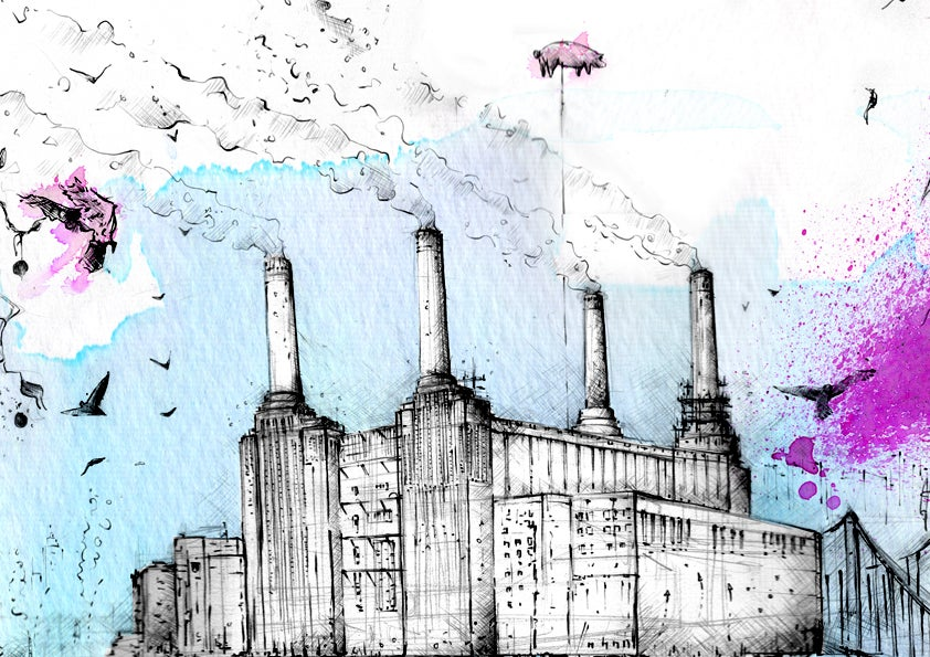 Image of Battersea Power Station - Limited Edition Print