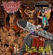 "Image of 3 way split - ""69% of PORNGRIND"" - SIXPOUNDER TERATOMA / RECTAL SMEGMA / PUSSY TORPEDO	CD OUT NOW"