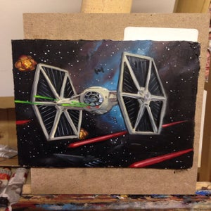 Image of Tie fighter