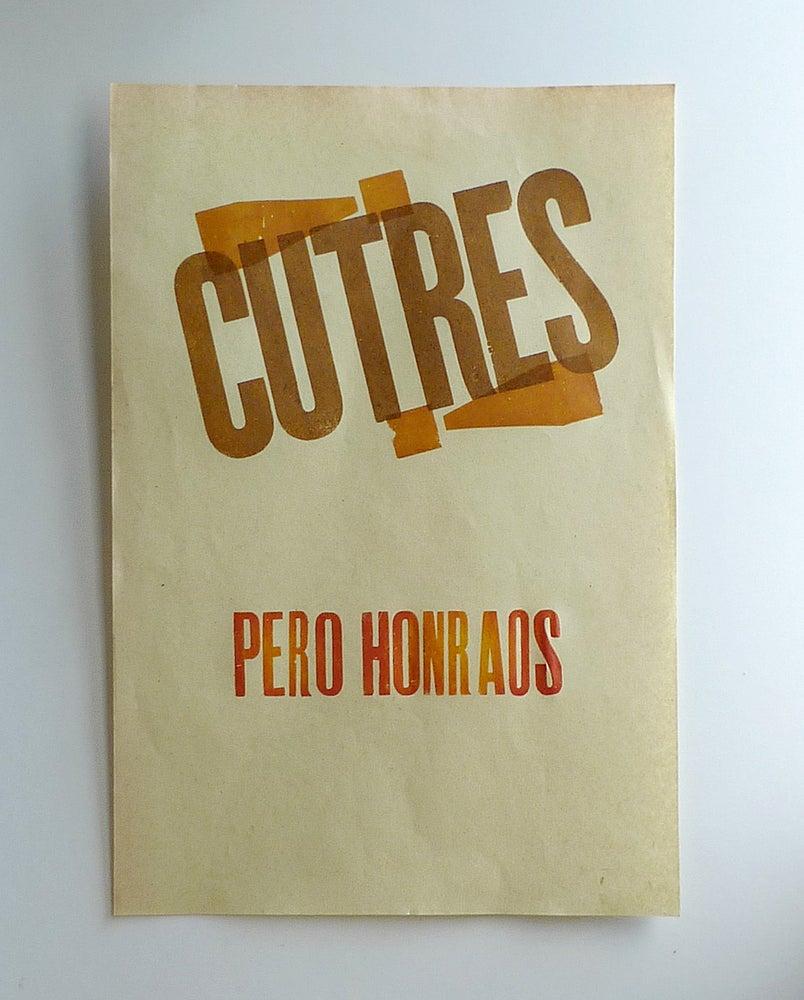 Image of Cutres pero honraos