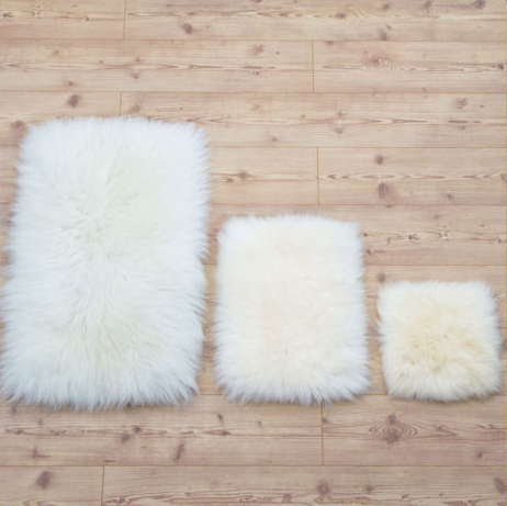 Image of NATURAL SHEEPSKIN SEATS !!