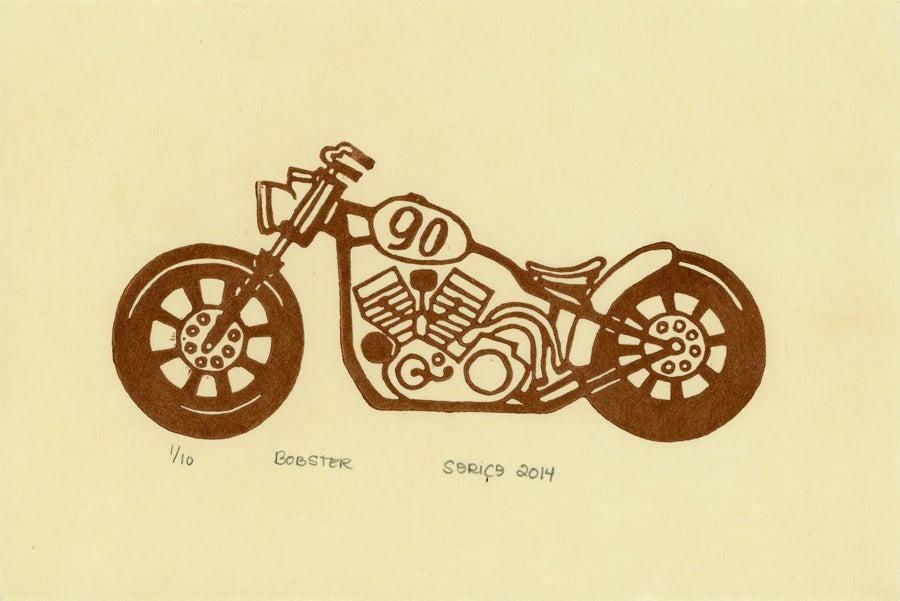 Image of Bobster Block Print
