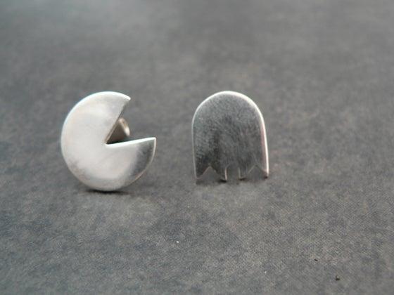 Image of Pac Man earrings