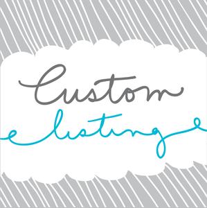 Image of Custom Hand Lettered Print for NV