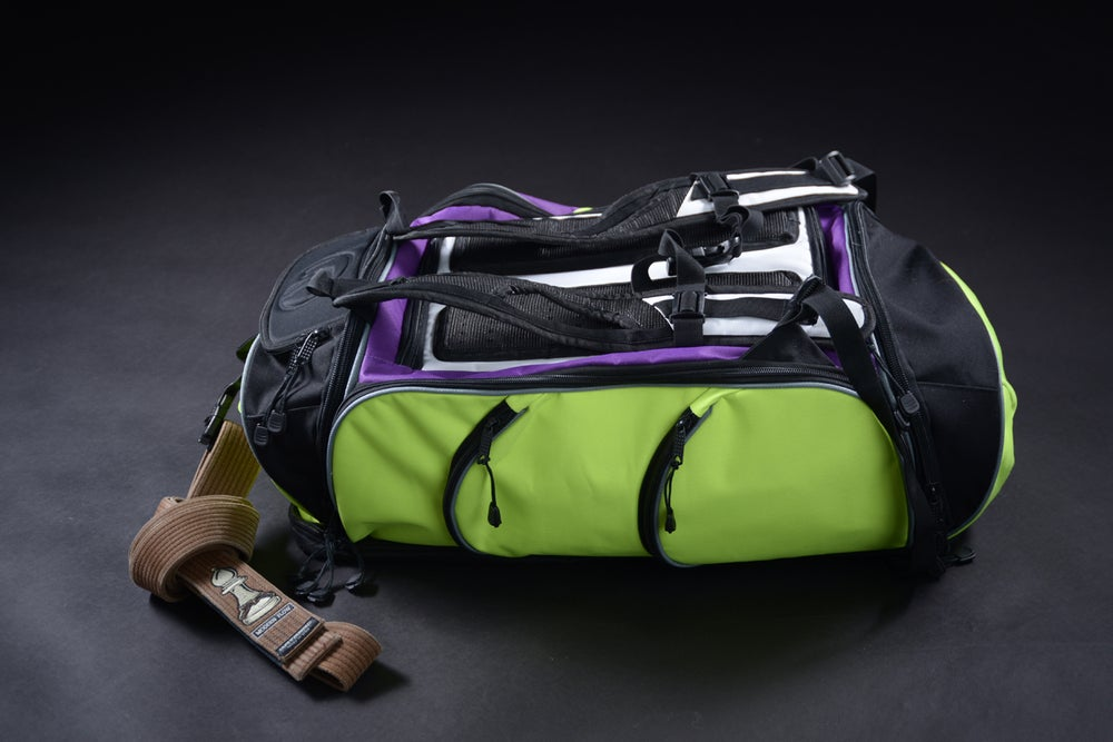 Image of Travelers Pack Green/Purple