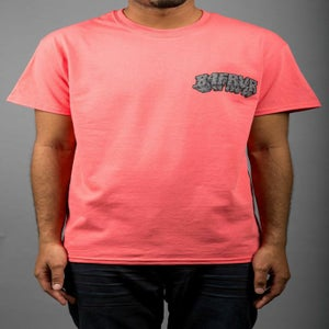 Image of B4FRVR TEXT TEE (SALMON)