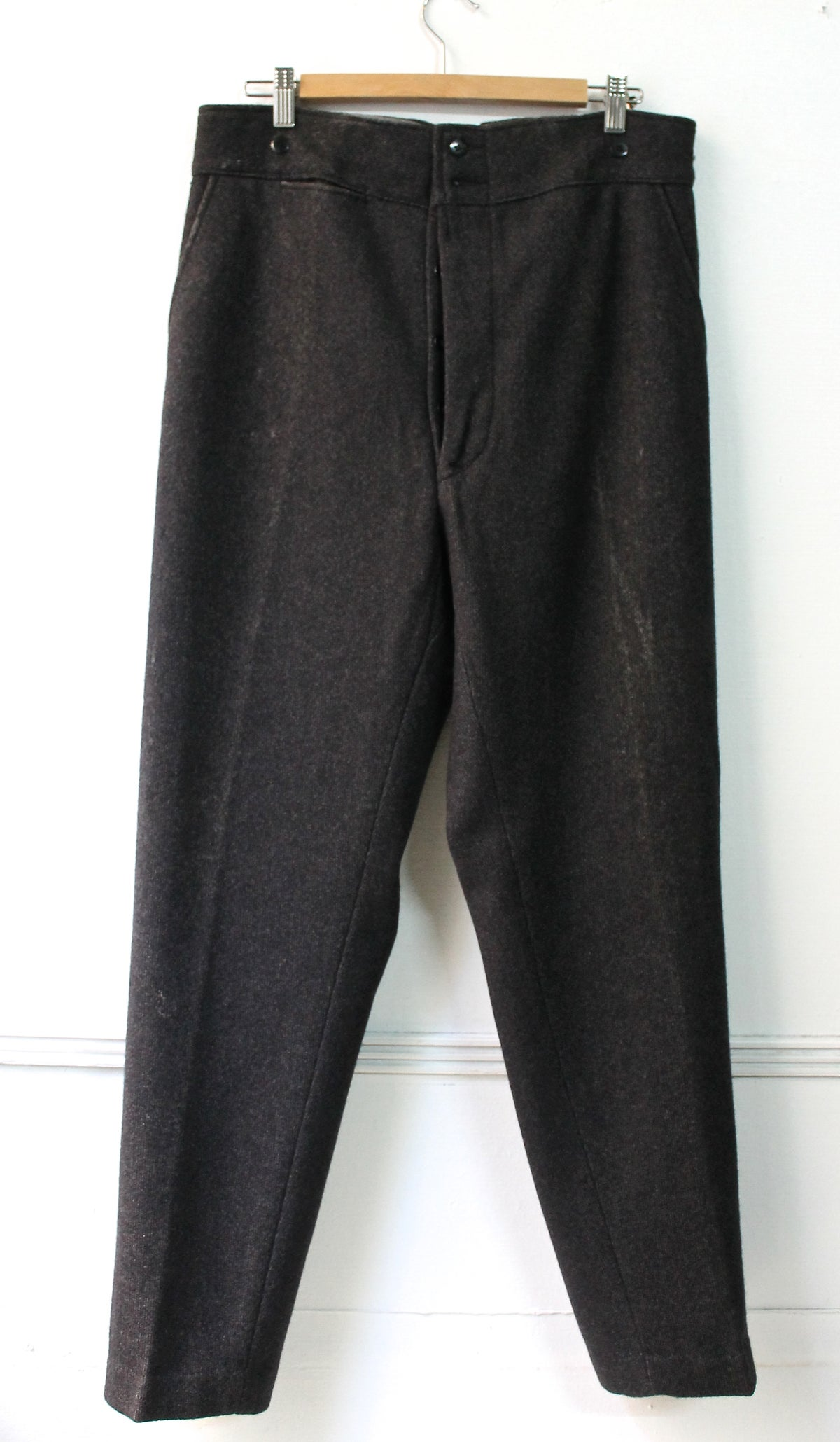 Image of 1940'S FRENCH WOOL PASCAL PANTS DEADSTOCK フレンチウールトラウザーデッドストック